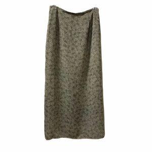 VTG 90's Maxi Skirt, dual slit